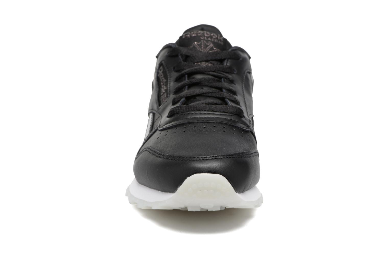 Cl Lthr L Pearl- Black/White/Ice