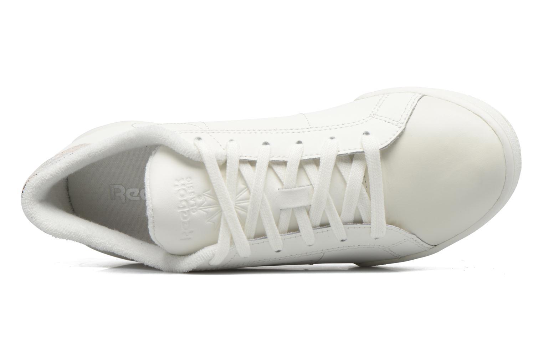 Baskets Reebok Npc II Fbt Blanc vue gauche
