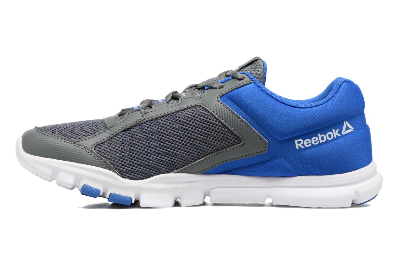 Chaussures de sport Reebok Yourflex Train 9.0 Bleu vue face