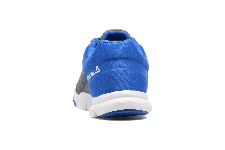 Chaussures de sport Reebok Yourflex Train 9.0 Bleu vue droite