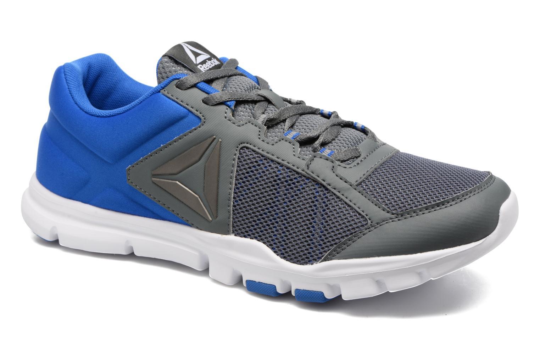 Chaussures de sport Reebok Yourflex Train 9.0 Bleu vue détail/paire