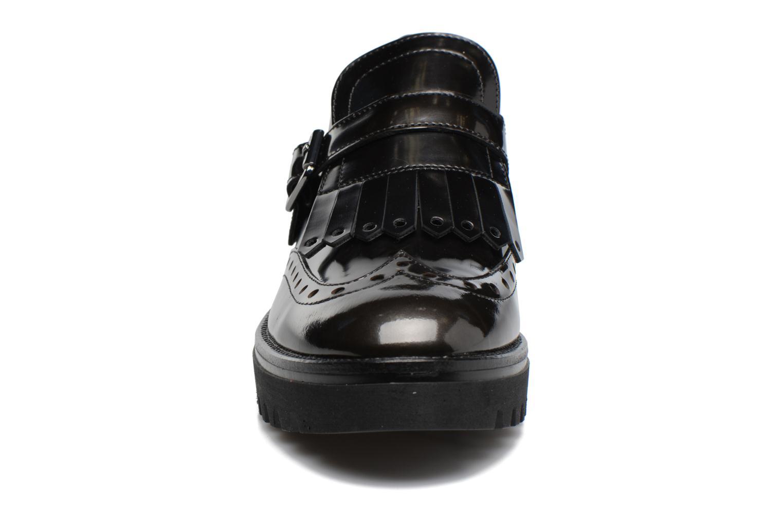 Mocassins Stonefly Perry 5 Noir vue portées chaussures