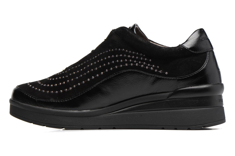 Zapatos con cordones Stonefly Cream 2 Negro vista de frente