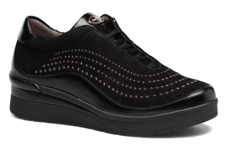 Zapatos con cordones Stonefly Cream 2 Negro vista de detalle / par