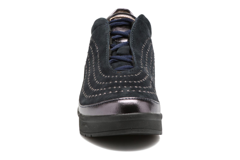 Zapatos con cordones Stonefly Cream 2 Azul vista del modelo