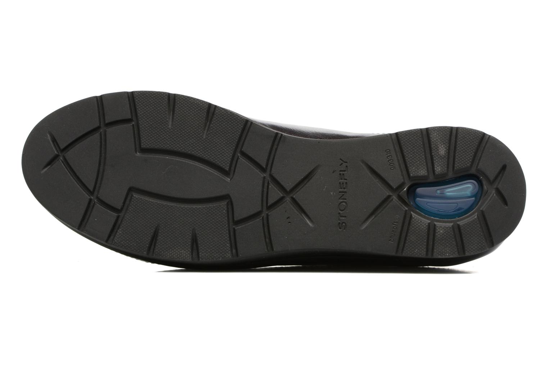 Zapatos con cordones Stonefly Cream 2 Azul vista de arriba