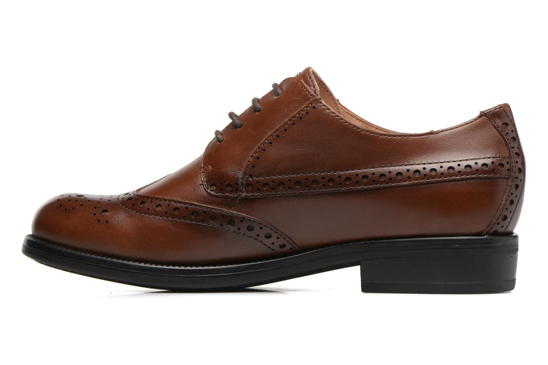 Zapatos con cordones Stonefly Clyde 21 Marrón vista de frente