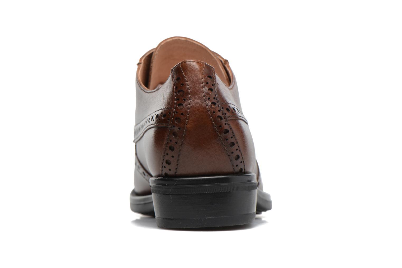 Zapatos con cordones Stonefly Clyde 21 Marrón vista lateral derecha