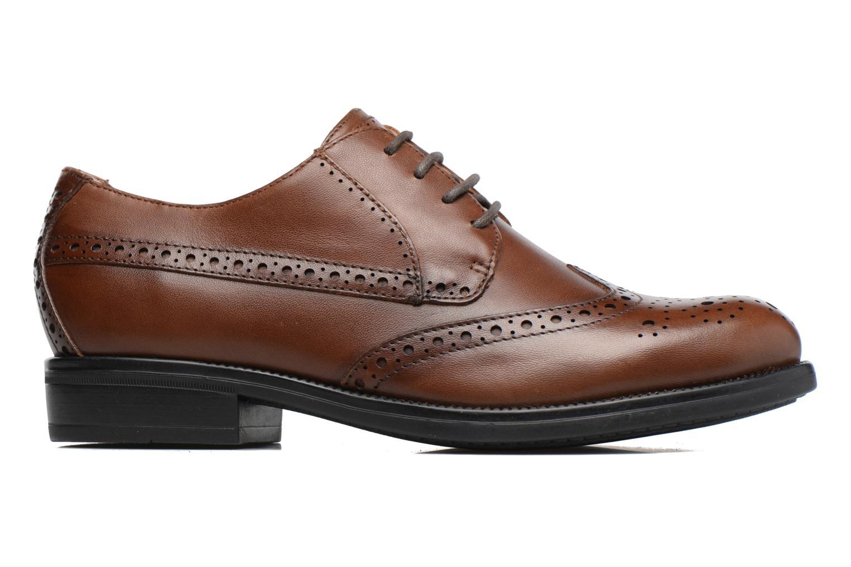 Zapatos con cordones Stonefly Clyde 21 Marrón vistra trasera