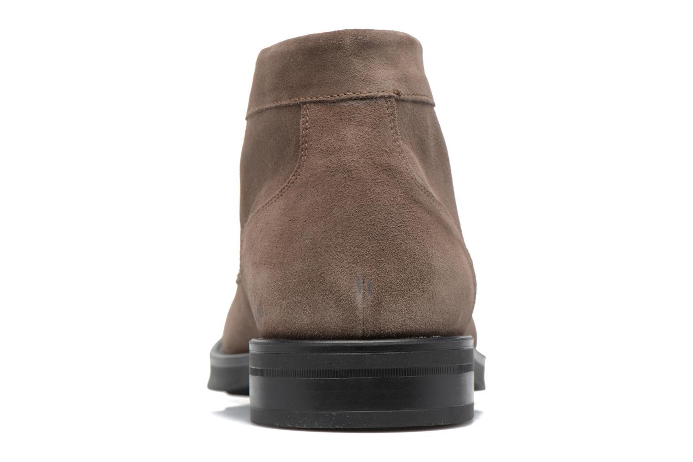 Zapatos con cordones Stonefly Class II 4 Beige vista lateral derecha