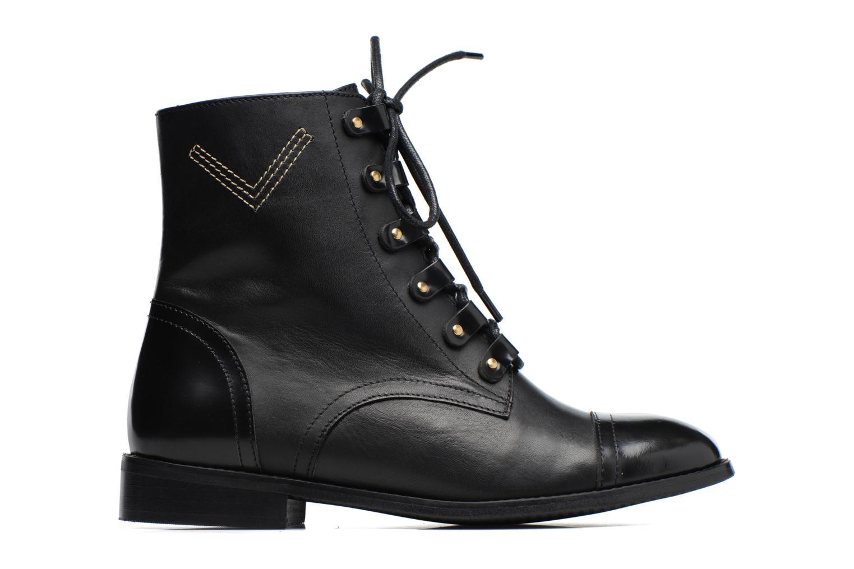 Boots Camp #17 Cuir Lise Noir