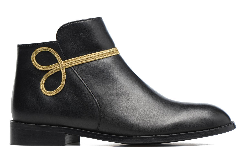 Boots Camp #18 Cuir Lisse Noir