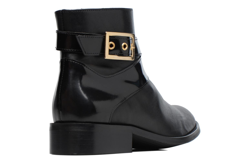 Boots Camp #23 Cuir Lisse Noir