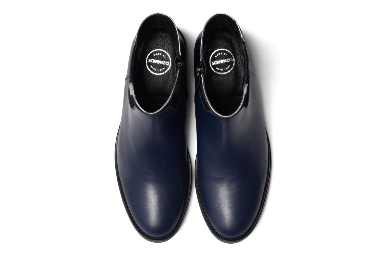 Bottines et boots Made by SARENZA Boots Camp #21 Bleu vue portées chaussures