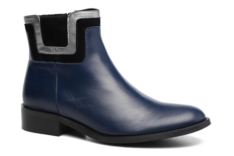Bottines et boots Made by SARENZA Boots Camp #21 Bleu vue droite