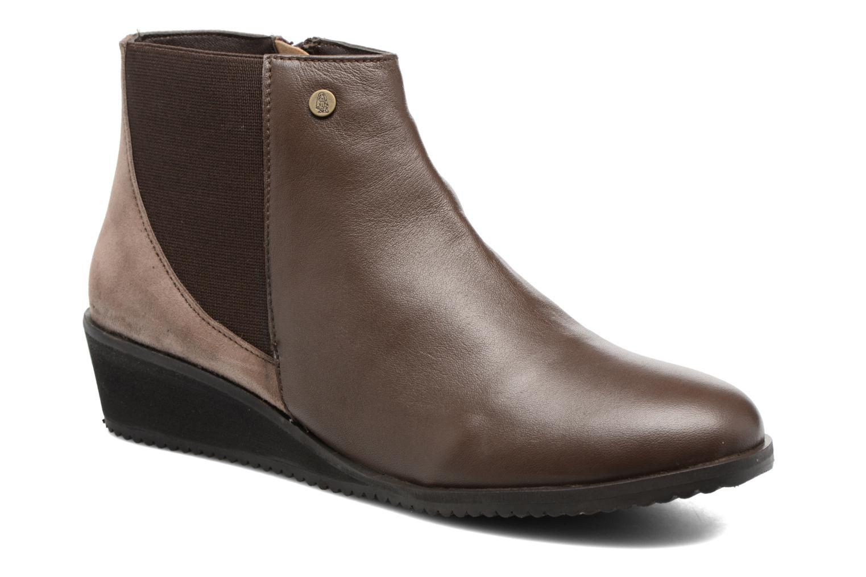 Bottines et boots Hush Puppies Colara Marron vue détail/paire