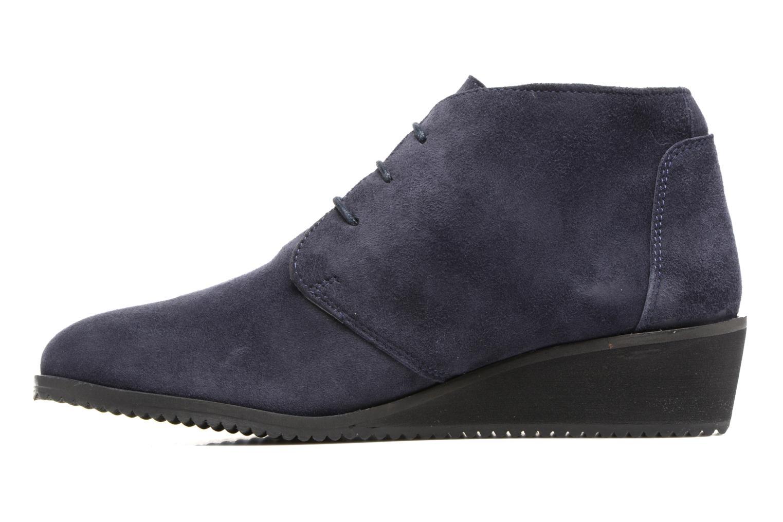 Bottines et boots Hush Puppies Colali Bleu vue face