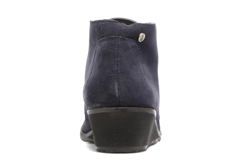 Bottines et boots Hush Puppies Colali Bleu vue droite