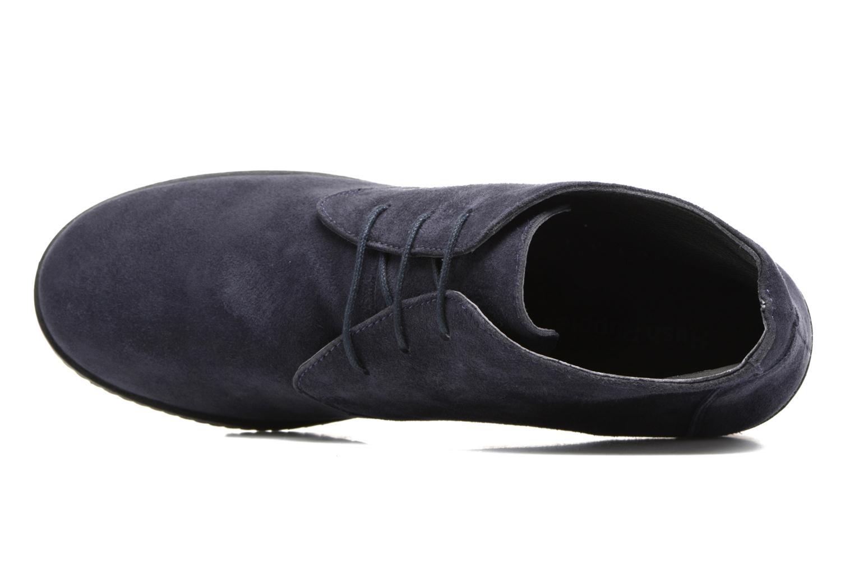 Bottines et boots Hush Puppies Colali Bleu vue gauche