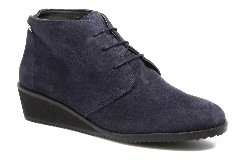 Bottines et boots Hush Puppies Colali Bleu vue détail/paire