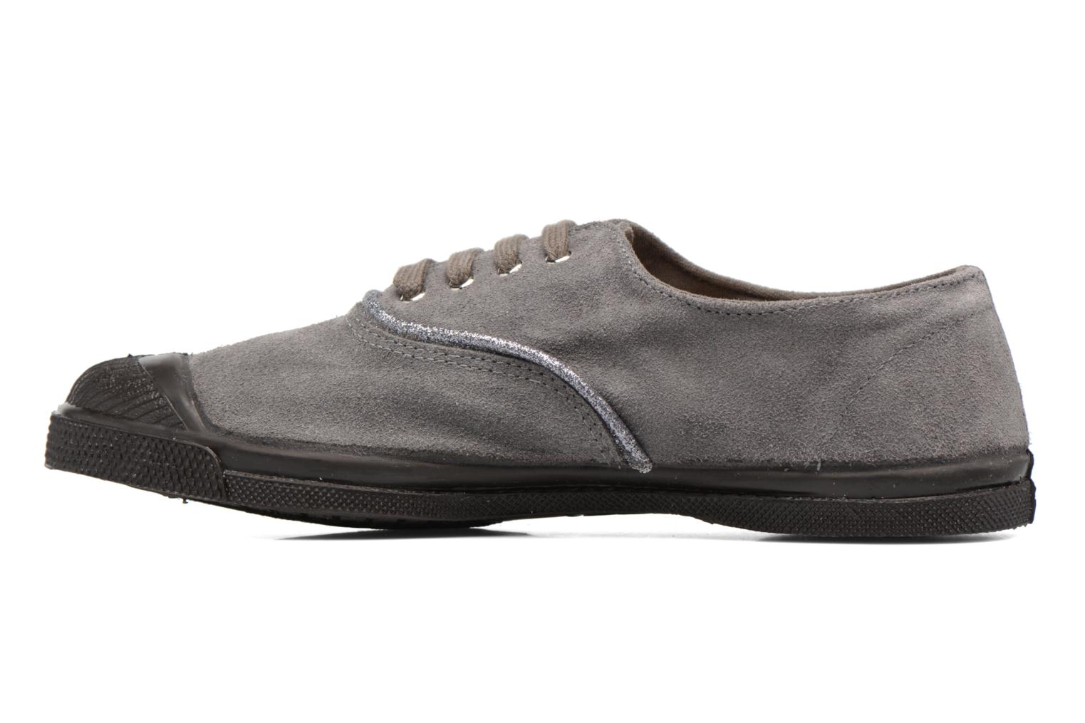 Trainers Bensimon Tennis Suedpiping F Grey front view