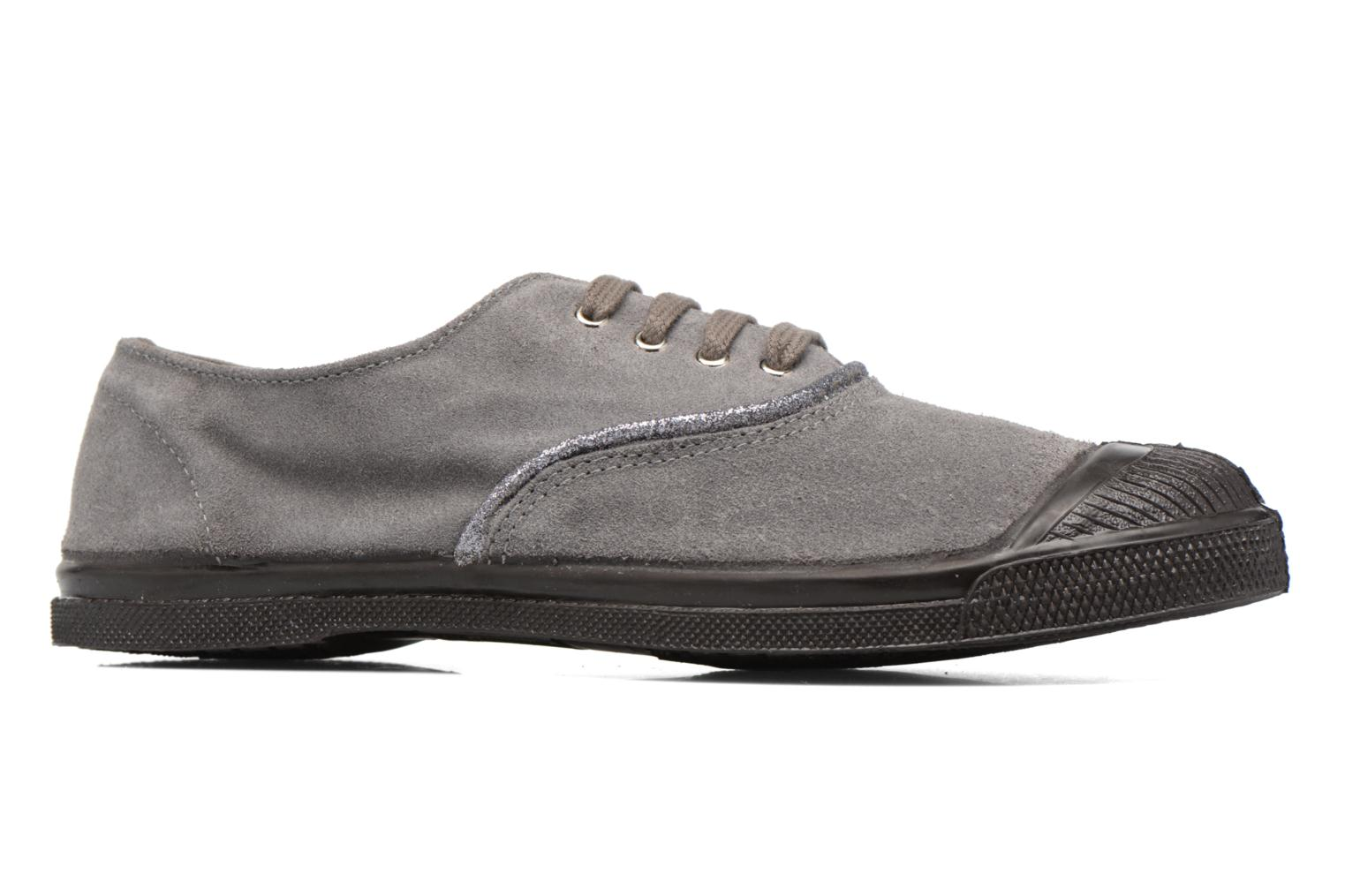 Trainers Bensimon Tennis Suedpiping F Grey back view