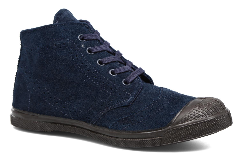 Baskets Bensimon Derby Suedboots Bleu vue détail/paire