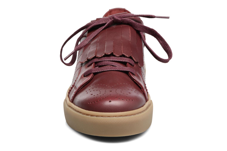 Baskets Bensimon Tennis Boychic Bordeaux vue portées chaussures