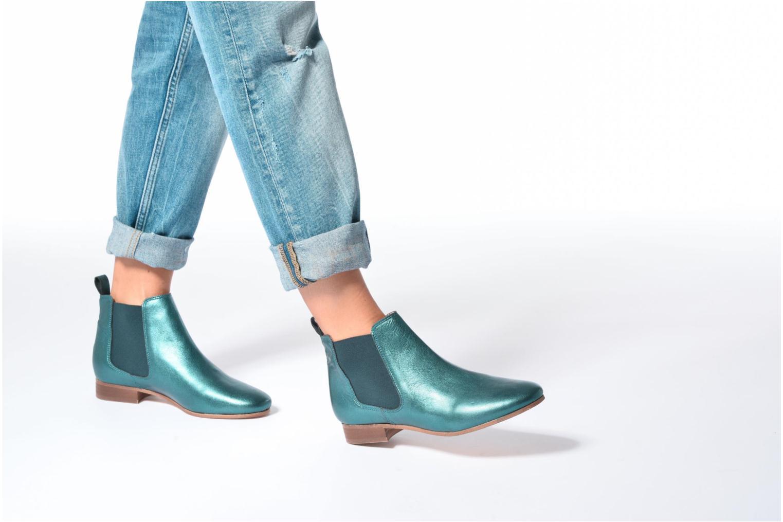 Bottines et boots Bensimon Boots Chelsea Marron vue bas / vue portée sac