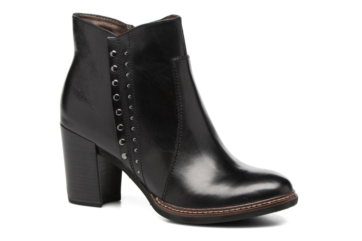 Ankle boots Tamaris Aeglas Black detailed view/ Pair view