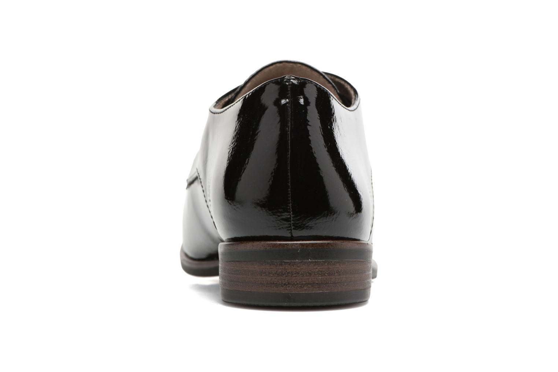 Chaussures à lacets Tamaris Bacha Noir vue droite