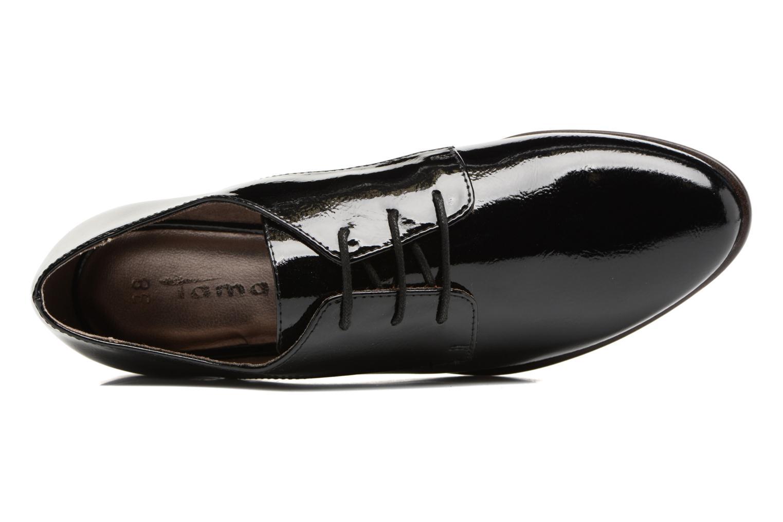 Chaussures à lacets Tamaris Bacha Noir vue gauche