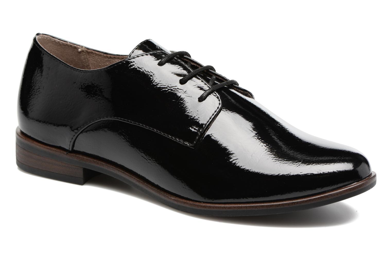Chaussures à lacets Tamaris Bacha Noir vue détail/paire