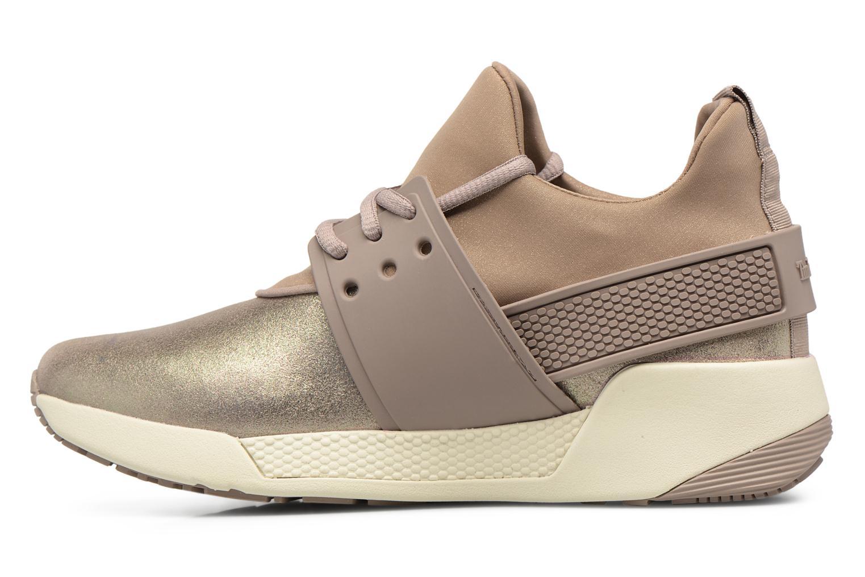 Sneaker Timberland Kiri Fly Chukka gold/bronze ansicht von vorne