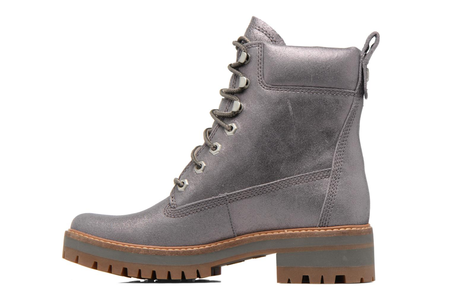 Courmayeur Valley Yellow Boot Dark Grey Shiny Suede