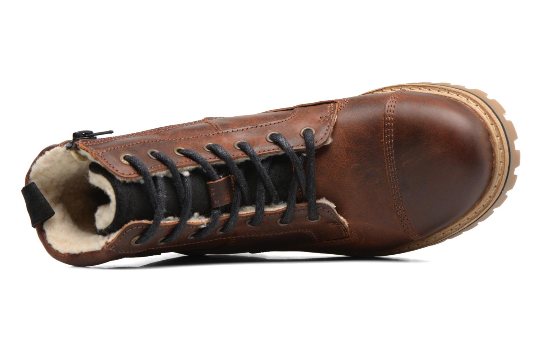Bottines et boots Bullboxer Tom Marron vue gauche