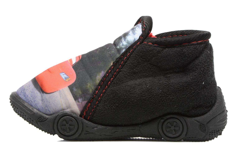 Chaussons Cars Rubanier Noir vue face