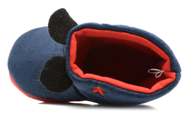 Chaussons Mickey Samare Bleu vue gauche