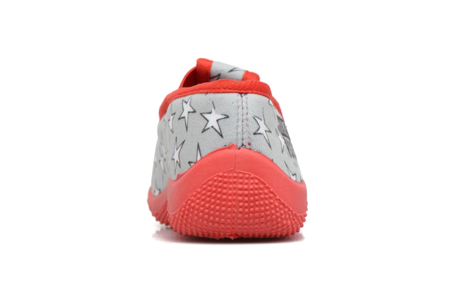 Chaussons Mickey Salanque Mickey Gris vue droite