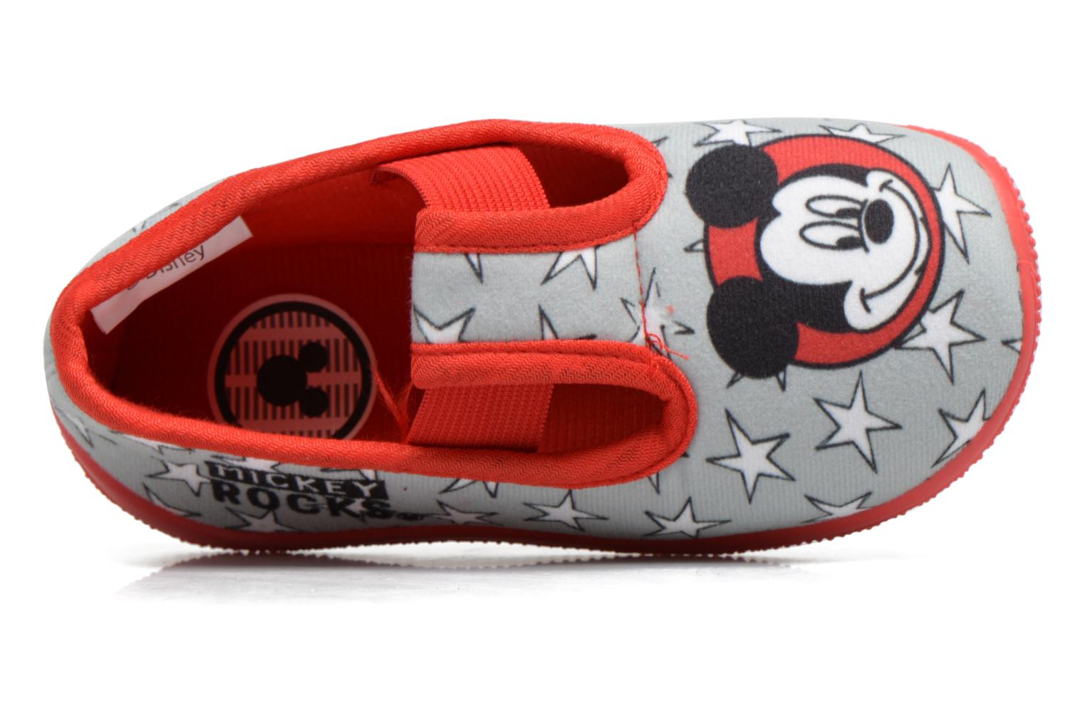 Chaussons Mickey Salanque Mickey Gris vue gauche
