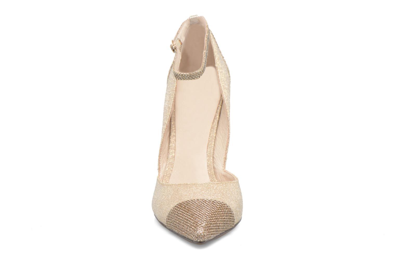 Escarpins Menbur Motown Or et bronze vue portées chaussures