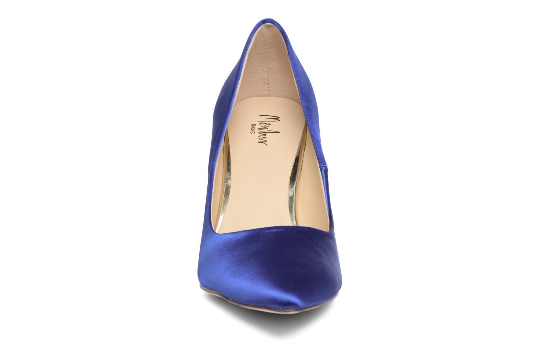 Escarpins Menbur Domingo Bleu vue portées chaussures