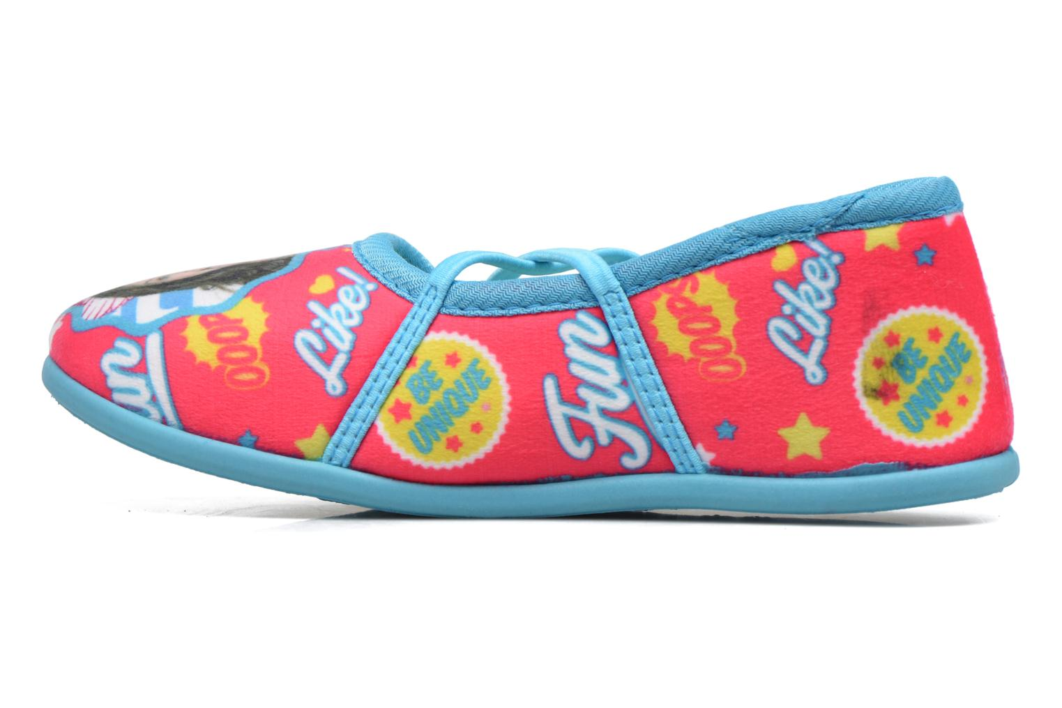 Slippers Soy Luna Sanadora Blue front view