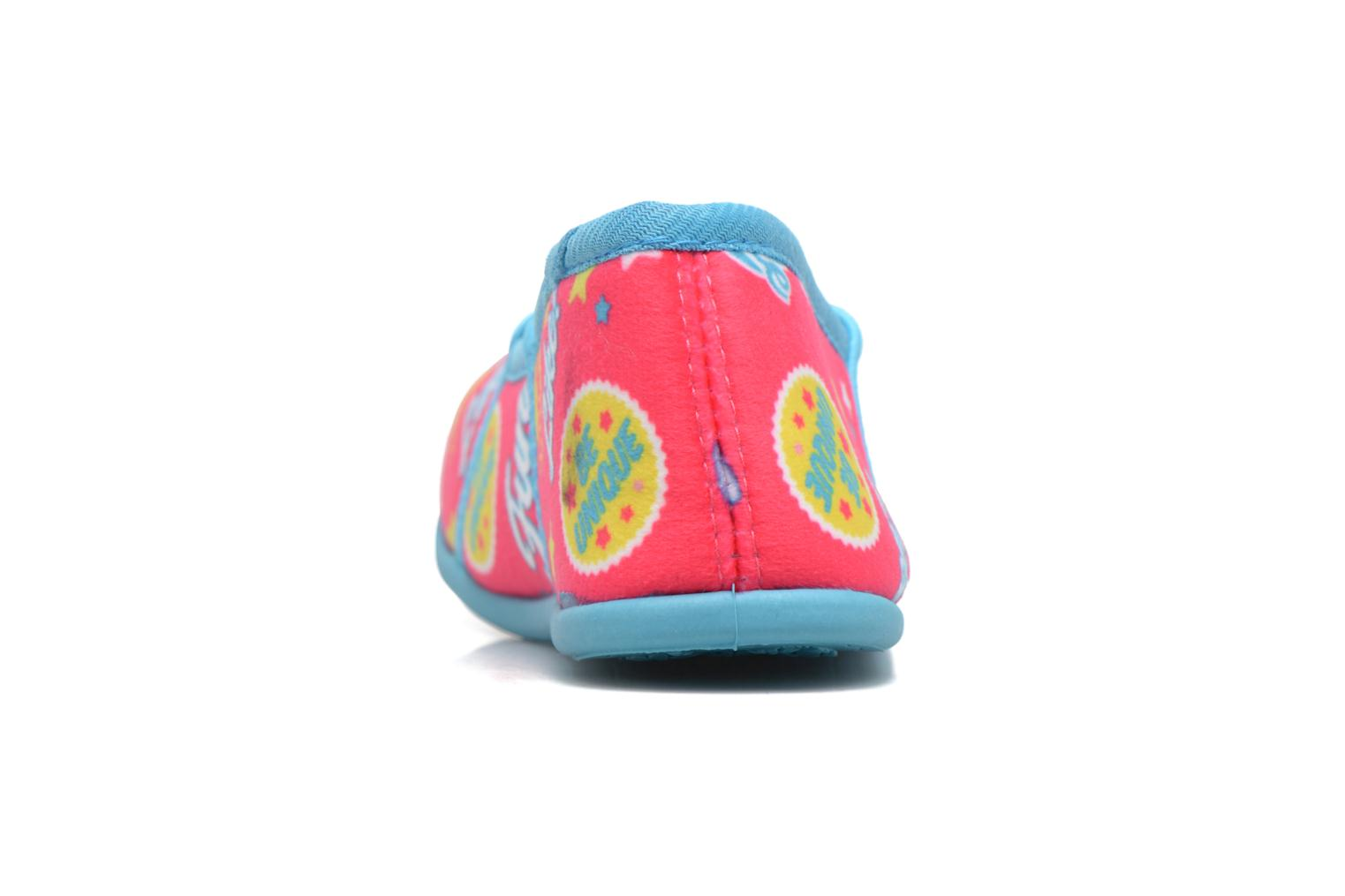 Slippers Soy Luna Sanadora Blue view from the right