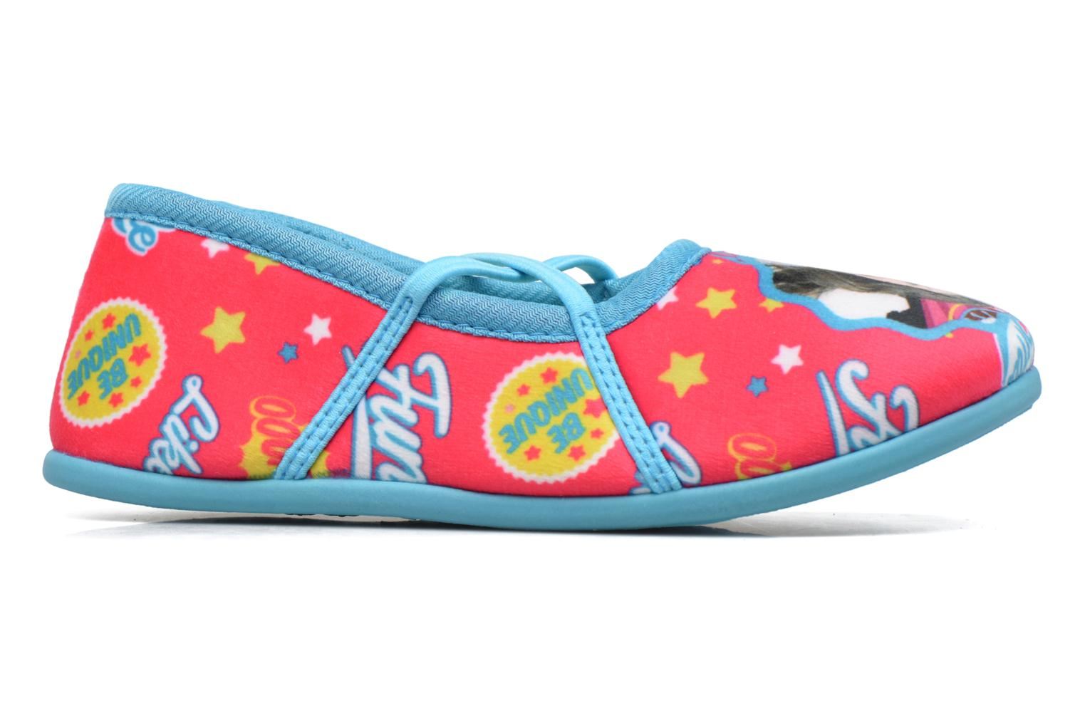 Slippers Soy Luna Sanadora Blue back view