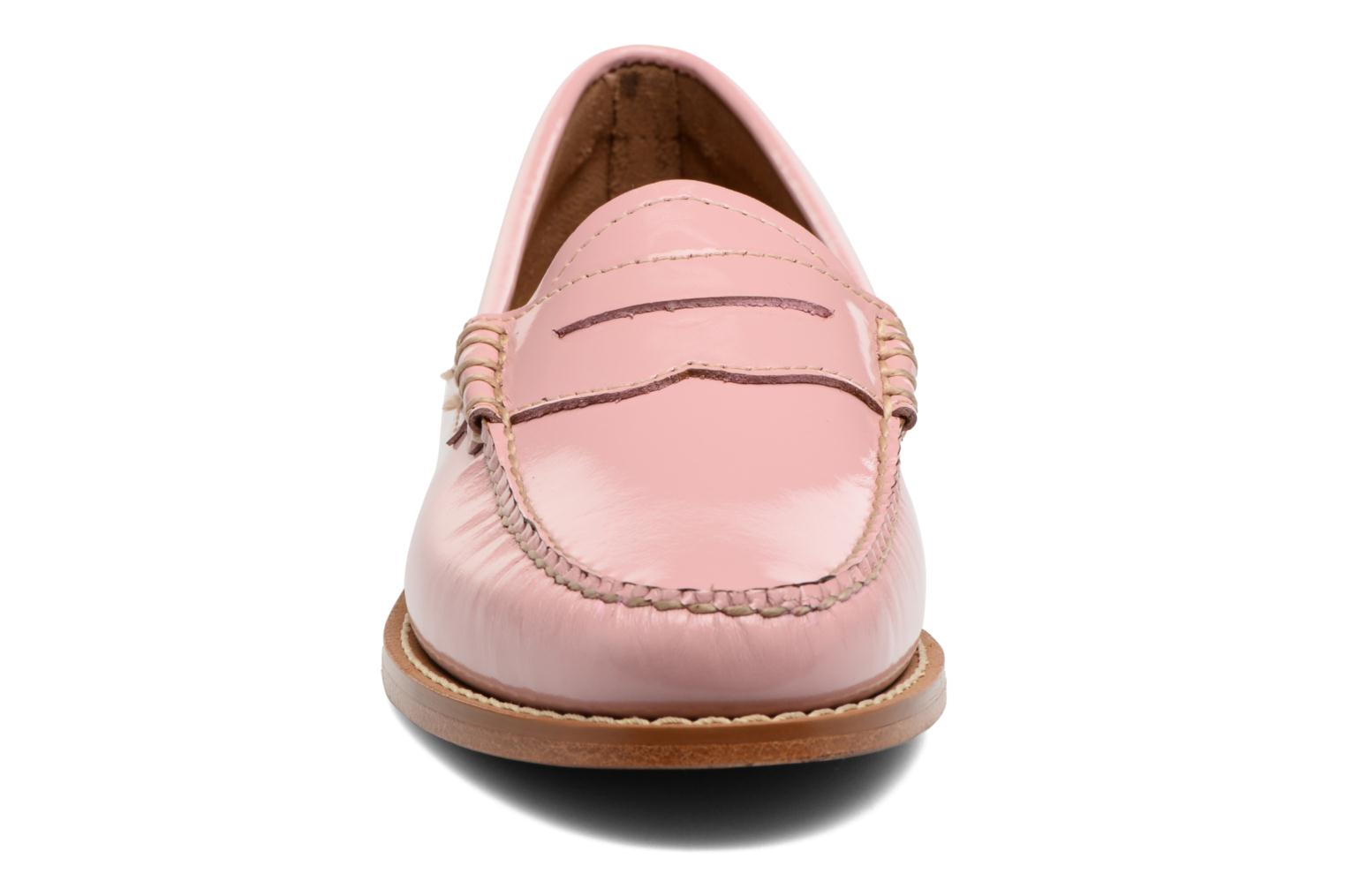 Loafers G.H. Bass Weejun WMN Penny Wheel Pink model view