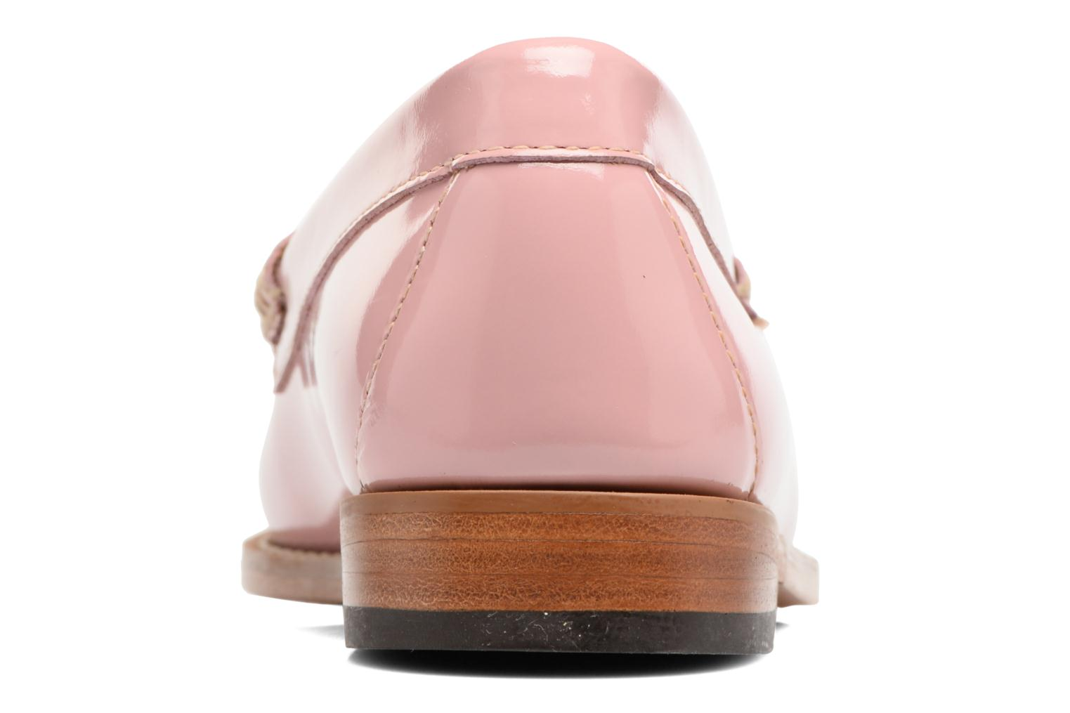 Loafers G.H. Bass Weejun WMN Penny Wheel Pink view from the right