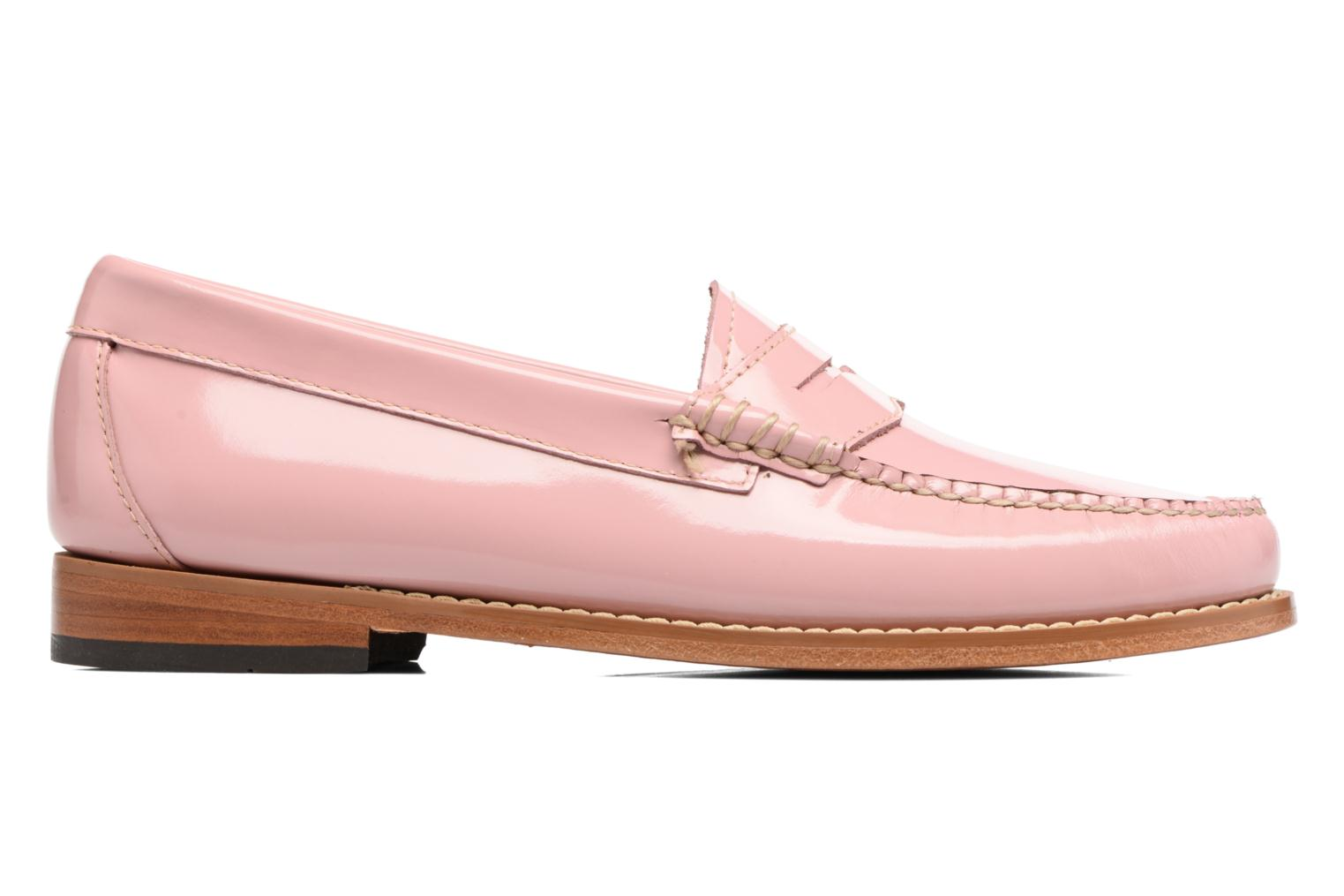 Loafers G.H. Bass Weejun WMN Penny Wheel Pink back view