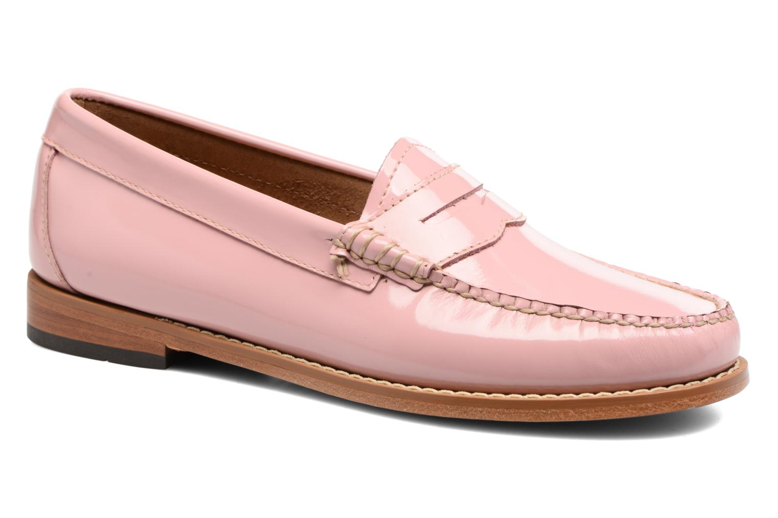 Loafers G.H. Bass Weejun WMN Penny Wheel Pink detailed view/ Pair view