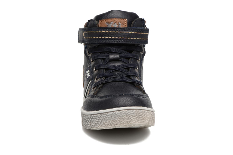 Sneaker Xti 55171 blau schuhe getragen